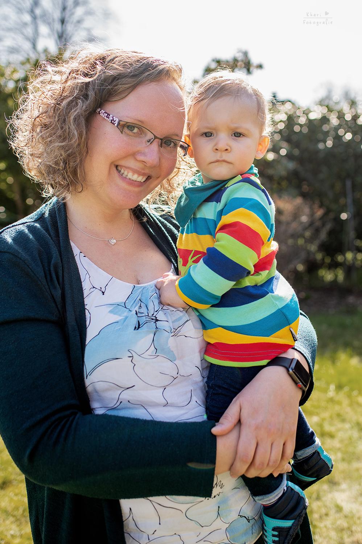 Familienshooting Nethen Portrait Mutter Kind